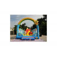 Buy cheap Spongebob And Patrick Star Fun City Inflatable Amusement Park from wholesalers