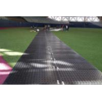 China temporary road track mat for light duty ground protection equipment/composite mat system on sale