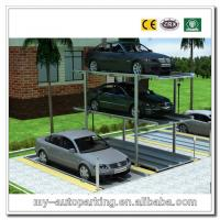 Buy cheap Simple Mode2-3 Levels Vertical Parking Lift Residential Pit Multi-level Mechanical Parking from wholesalers