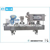 Buy cheap Automatic Drinking Water Plastic Cup Filling and Sealing Machine from wholesalers