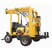 Buy cheap XYX-3 Trailer mounted drilling rig 600meter depth product