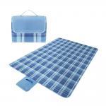 Buy cheap Anti Sand Washable Soft Velvet Packable Picnic Blanket PEVA Bottom from wholesalers