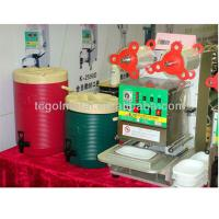 Buy cheap Fully Automatic Cup and Tray sealing machine from wholesalers