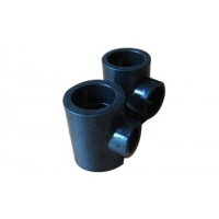 Buy cheap Ministry Health Screw Joint Socket Butt Tee HDPE Pipe Fittings from wholesalers