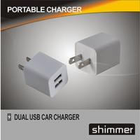 Buy cheap 3rd-Generation Green Pot Dual USB Travel Charger product
