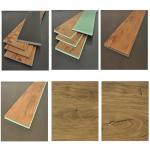 Buy cheap Brown Waterproof Laminate Flooring Long Lasting Construction WPC Material from wholesalers