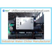 Buy cheap 30hp Shell and Tube Evaporator Water Cooled Scroll Water Chiller from wholesalers