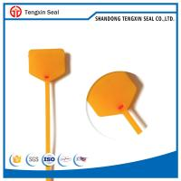 Buy cheap TX-PS108 Luggage seal cargo seal free sample off price logo mark plastic lock seals from wholesalers