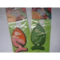 Buy cheap Eco friendly fish shape paper air freshener,various colors for choose from wholesalers
