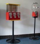Buy cheap mini gum ball vending machine Plating candy dispenser gumball machine mini series from wholesalers