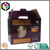 Buy cheap Gable Top Corrugated Packaging Box; Handled Color Print Corrugated Paper Box from wholesalers