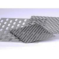 Buy cheap Galvanized Round Hole Aluminum Perforated Sheet With Corrosion Resistance from wholesalers