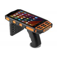 Buy cheap 5 Portable UHF RFID POS Terminal Barcode Scanner Android PDA Data Collection from wholesalers