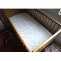 Buy cheap Washable Mattress Quilted Cover / Organic Baby Crib Mattress Cover from wholesalers