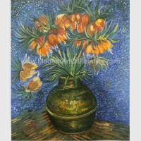 Buy cheap Van Gogh Oil Paint Fritillaries In A Copper Vase Masterpiece Replicas product