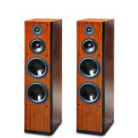 Buy cheap 2015 Brand New Wood Finish Perfect Sound Floor Stand Home Speaker Dual 8 Inch Bass Driver from wholesalers