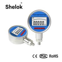 Buy cheap Water RS485 RS232 oil air digital pressure gauge manometer 100mm from wholesalers