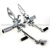 Buy cheap Durable Adjustable Ducati 1098 Rear Sets Aggressive Rider Position from wholesalers