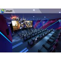 Buy cheap Unique Entertainment 4D Movie Theater With Electronic Motion Seats product