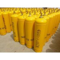 Buy cheap 3l - 40l Industrial Gas Cylinders , Seamless 34CrMo4 Steel Acetylene Gas Tank from wholesalers