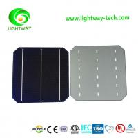 Buy cheap 21.7% eff.156mm*156mm Monocrystallin 3BB solar cells from wholesalers