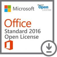 Multiple Office Software Microsoft Office Standard 2016 - Open License