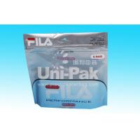 Buy cheap Laminated Garment Packaging Bags With Ziplock Standing Undearwear Bag from wholesalers