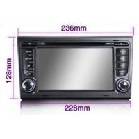 Buy cheap Android 4.0 Digital Audi A4 In Car DVD Player Support IPOD CLASSIC / IPOD NANO / IPOD TOUCH from wholesalers