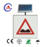 Buy cheap Square high brightness Turkey Solar LED Speed Bump Sign for traffic warning from wholesalers