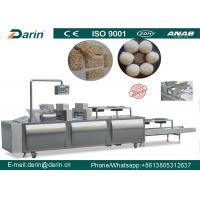 Buy cheap Granola peanuts sesame rice mixing Bar forming line SUS304 material from wholesalers