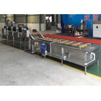 380V Automatic Fruit Canning Equipment High Precision Cleaning / Drying Line