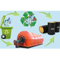 Buy cheap Plastic scrap pyrolysis plant convert plastic to oil from wholesalers