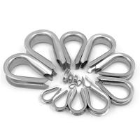 Buy cheap Chicken Heart Shaped Tube Thimble Ring Stainless Steel For Wire Rope Loop Accessories from wholesalers