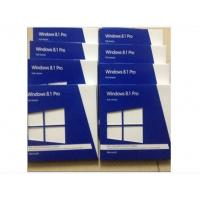 Buy cheap Computer Software Windows 8.1 Pro Retail Box Microsoft OEM System Builder License from wholesalers