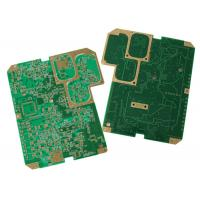 Buy cheap Multilayer PCB 2-28layers Professional material Rogers Gold plate from wholesalers