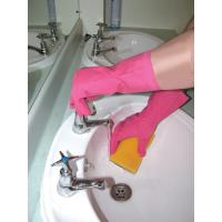 Buy cheap flock lined household latex rubber glove from wholesalers