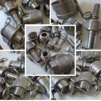Buy cheap stainless steel 304/316 quick fittings/camlock from wholesalers