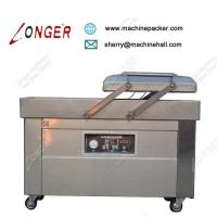 Buy cheap ​Industrial High Speed Meat Double Chamber Vacuum Packaging Machine Price from wholesalers