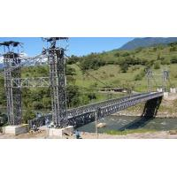 Buy cheap Q345B Steel Wire Suspension Bridge , Heavy Loading Suspension Cable Bridge from wholesalers