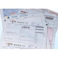 Buy cheap printed 5-parts waybill / consignment note from wholesalers