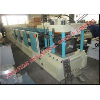 Buy cheap Adjustable Steel Z Purlin Roll Forming Machine With Mitsubishi PLC Control System from wholesalers