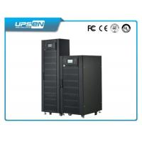 Buy cheap 3 Phase Double Conversion Online UPS with 380VAC Neutral Ground and black from wholesalers