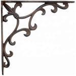 Buy cheap Metal Ornamental Iron Parts Cast Iron Anchor Bracket Wall Shelf Bracket from wholesalers