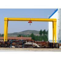 Buy cheap 10 Ton / 20 Ton Single Beam Gantry Crane , Outdoor Steel Gantry Lifting Equipment from wholesalers