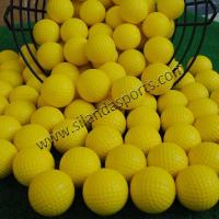 Buy cheap PU Soft Rubber Color Golf Balls from wholesalers