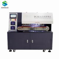 Buy cheap full automation soldering robot DC connector soldering machine for DC cable support stripping, cutting, soldering from wholesalers