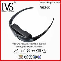 Buy cheap 52inch virtual screen digital video eyewear glasses with AV input for iphone, ipod, game cube from wholesalers
