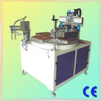 Buy cheap CE Approved Chinese Single Color 4 Stations HS-350P Precise Flat Surface Screen Printer With Vacuum from wholesalers