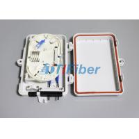 Buy cheap FTTH Optical Fiber Termination Box With 4port SC LC Fiber Optic Connectors from wholesalers