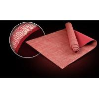 Buy cheap Virson Fashion jute covered pv yoga mat/eco yoga mat jute.fitness. gym mat from wholesalers